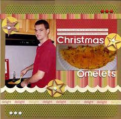 Christmas Omelets