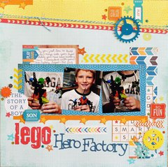 Lego Hero Factory