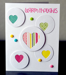 Warm Thoughts Card