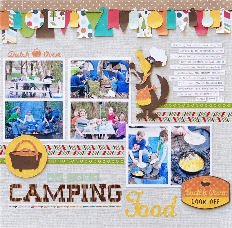 We Love Camping Food