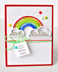 Rainbow Wishes Card