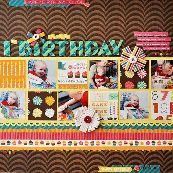 Spencer's 1st Birthday