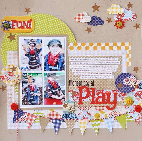 Pioneer Boy At Play
