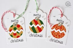 Merry Christmas Tags