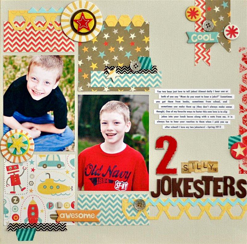 2 Silly Jokesters