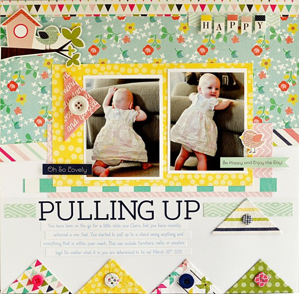 Pulling Up *My Creative Scrapbook Kit*