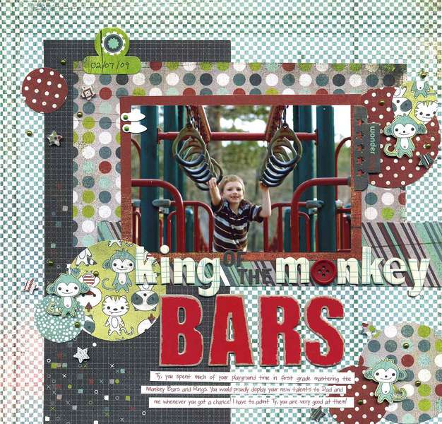 King of the Monkey Bars