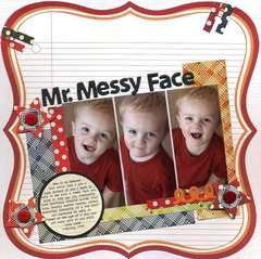 Mr. Messy Face