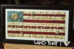 Land That I Love Wall Hanging