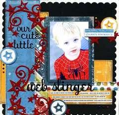 Our Cute Little Web-Slinger