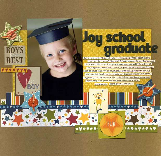 Joy School Graduate