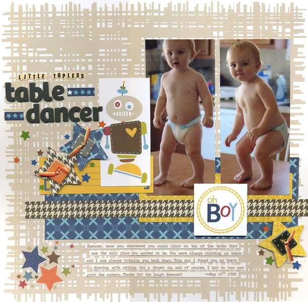 Little, Topless, Table Dancer