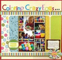 Coloring Crazy Eggs