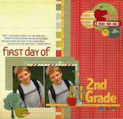 First Day of Second Grade