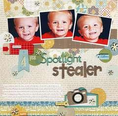 4 Year Old Spotlight Stealer