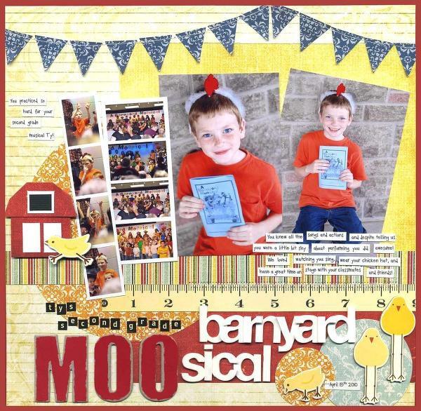 Second Grade Barnyard Moosical