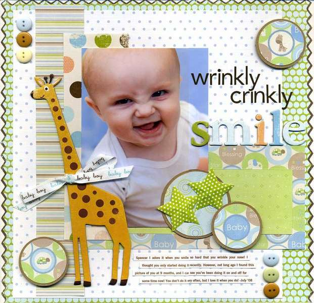 Wrinkly, Crinky, Smile
