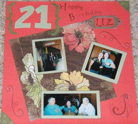 Liz's Bday Page 1