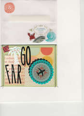 Graduation/ Vacation Card & envelope
