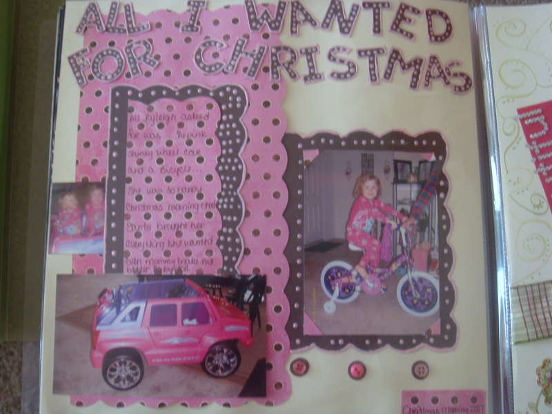 ALL RYLEIGH WANTED FOR CHRISTMAS
