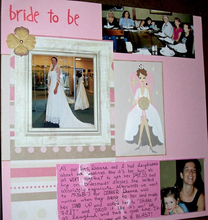 Bride to Be (1/2)