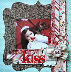 This Kiss *Pink Paislee Cupid*