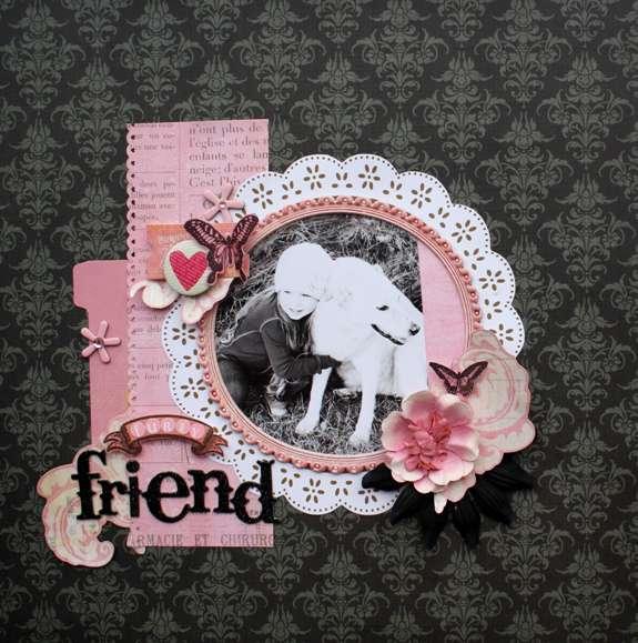 Furry Friend *Pink Paislee*