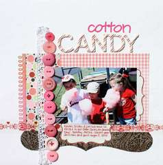 Cotton Candy *Pink Paislee*