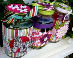 Altered Mason Jars