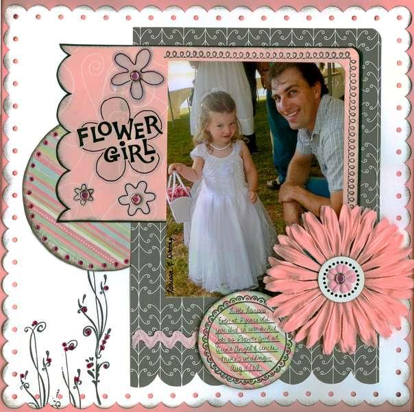 * Flower Girl * {re-done}