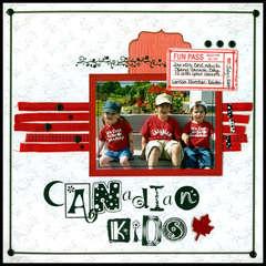 * Canadian Kids* [Canadian Scrapbooker Summer '08]