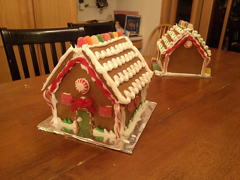 The Bear's Gingerbread House