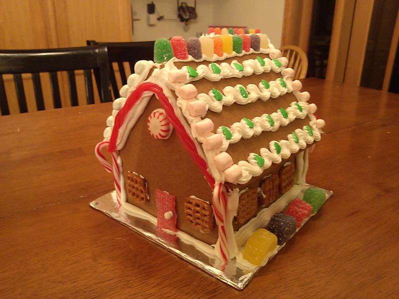B's Gingerbread House
