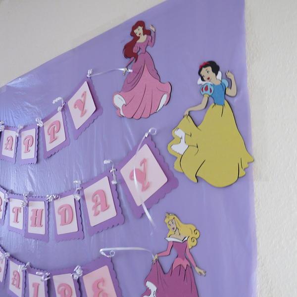 Princess Bday Banner