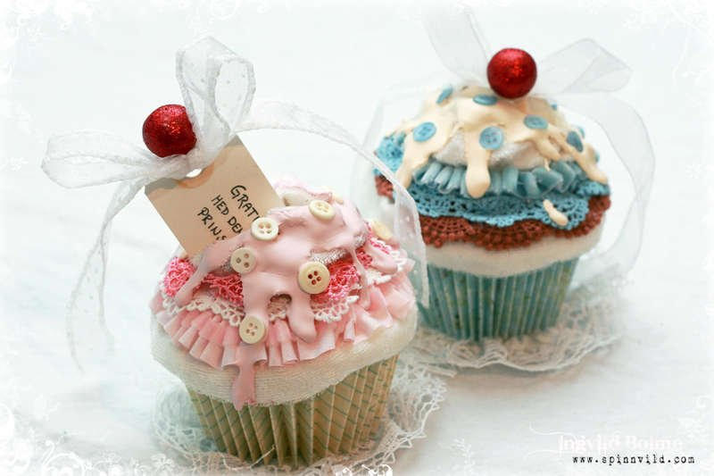 Baby Cupcake Cards