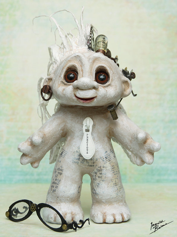 Steampunk Troll altered toy - Ingvild Bolme - Prima