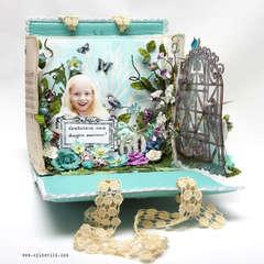 Canvas Album Handbag 3D Card