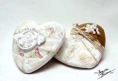 Altered Decorative Hearts ***GDT Melissa Frances***