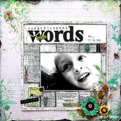 Your Childhood (Animal) Words - BRAND NEW PRIMA!