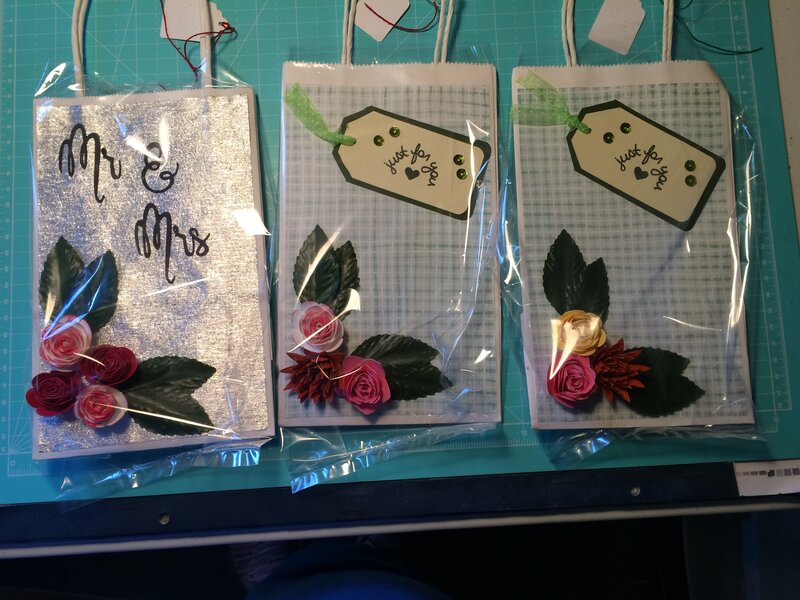 3 D Gift Bags