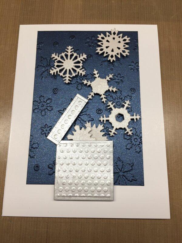 Box Bursting Snowflakes