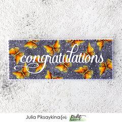 Congratulations butterflies