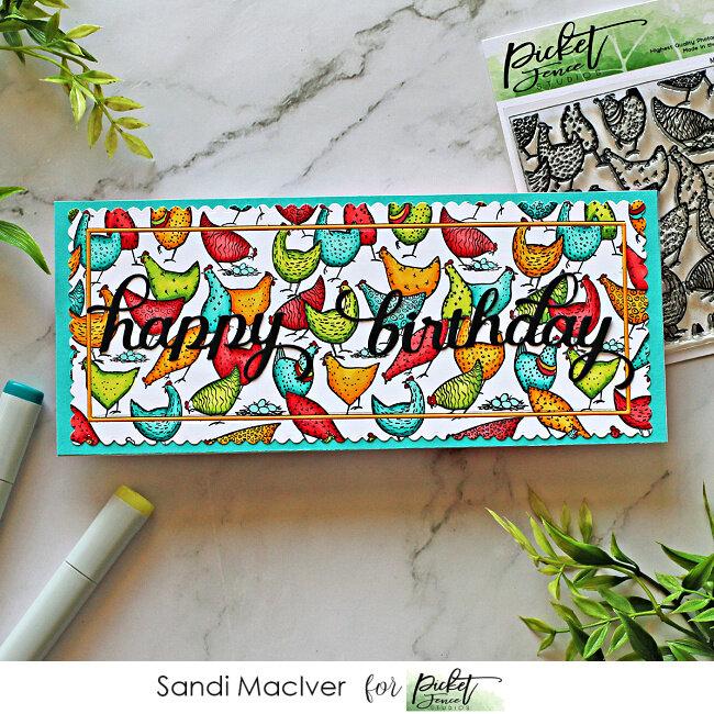 Birthday Chickens