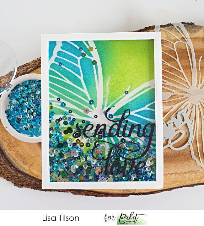 Sending butterfly love