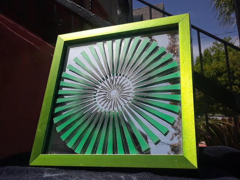 Green Moire