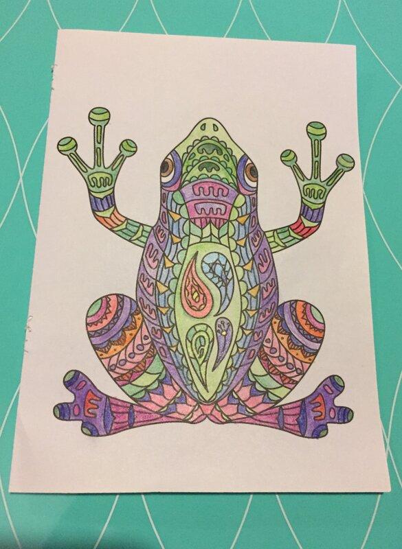 Hippie Frog