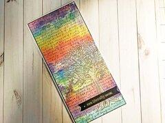 No Warp Vellum | Rainbow Reactive Inks | Hero Arts