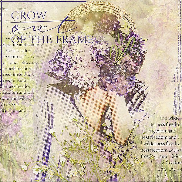 Grow out of the frame