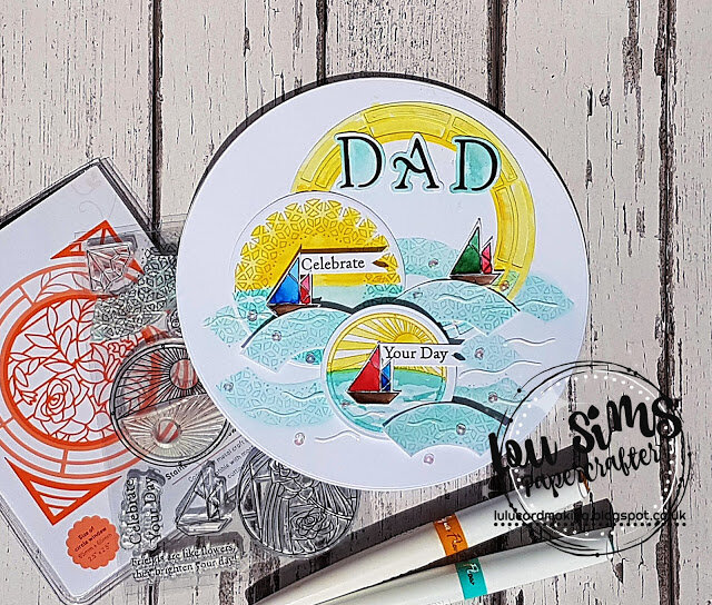 A card made for Dad
