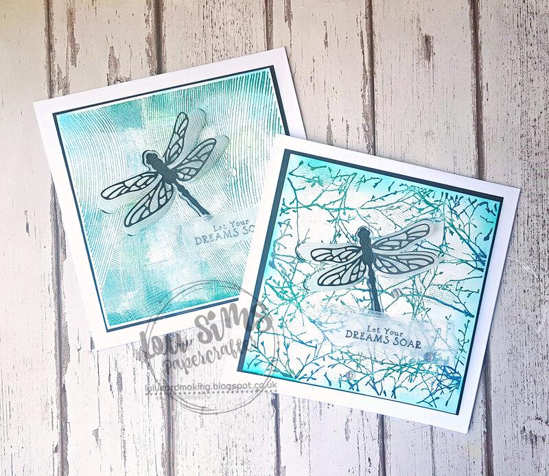 Hero Arts Bold Prints background stamps